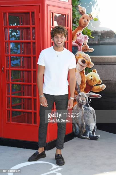 Eyal Booker attends the European Premiere of Christopher Robin at the BFI Southbank on August 5 2018 in London England