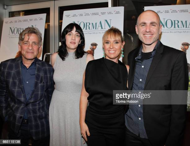 Eyal Rimmon Amanda Marshall Miranda Bailey and Joseph Cedar attend the premiere and prereception for Sony Pictures Classics' 'Norman' at Linwood Dunn...