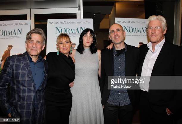 Eyal Rimmon Miranda Bailey Amanda Marshall Joseph Cedar and Richard Gere attend the premiere and prereception for Sony Pictures Classics' 'Norman' at...