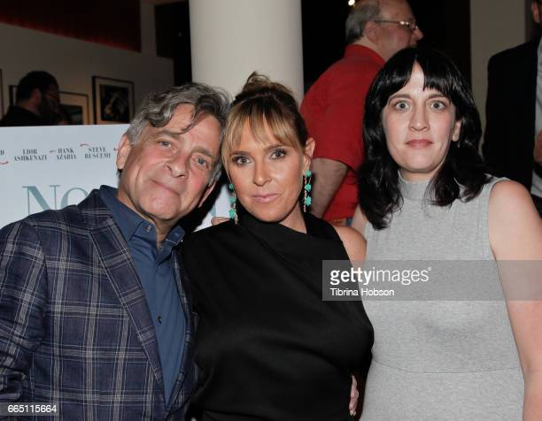 Eyal Rimmon Miranda Bailey and Amanda Marshall attend the premiere and prereception for Sony Pictures Classics' 'Norman' at Linwood Dunn Theater at...