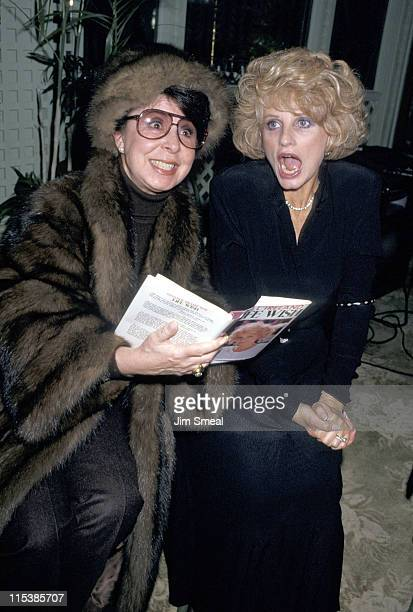 "Eydie Gorme and Jill Ireland during ""Life Wish"" Book Party at Bistro's in Los Angeles, California, United States."