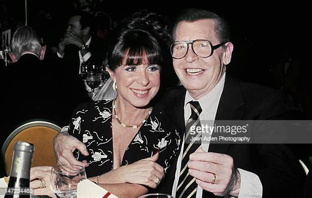 Eydie Gorme and Milton Berle atttend the CEDU Associates Holiday Ball and Auction at the Century Plaza Hotel.