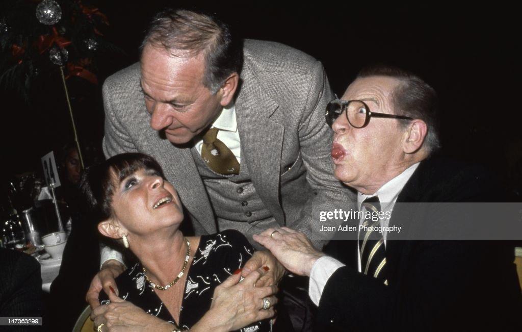 Eydie Gorme Jack Klugman And Milton Berle Atttend The Cedu News Photo Getty Images