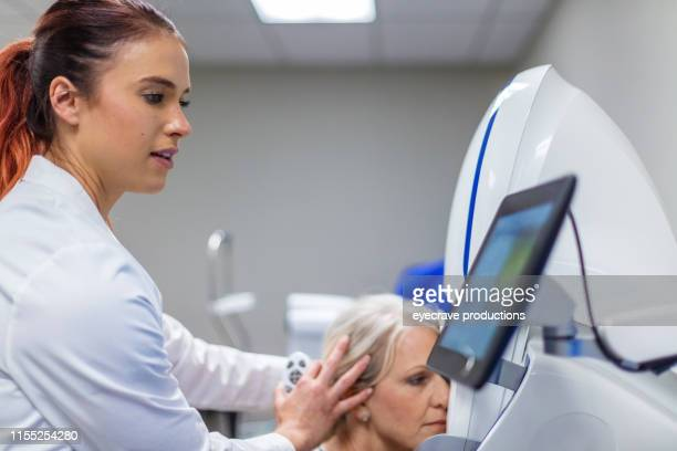 Eye Care Processional in State of The Art Facility Using Eye Technology Equipment