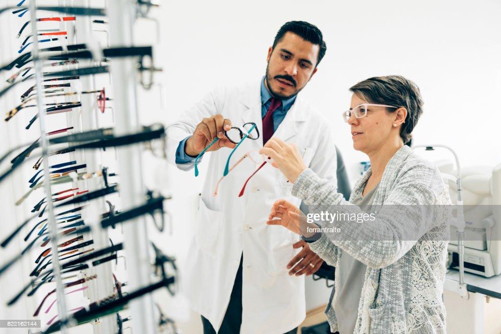 Eye Check up : Stock Photo