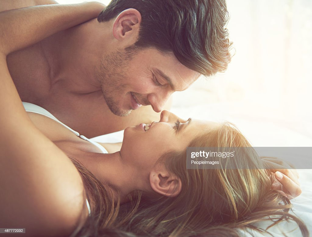 Eye contact…a heightened form of intimacy : Stock Photo