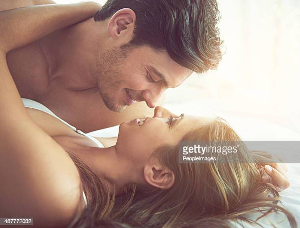 eye contact…a heightened form of intimacy - wife photos stock photos and pictures