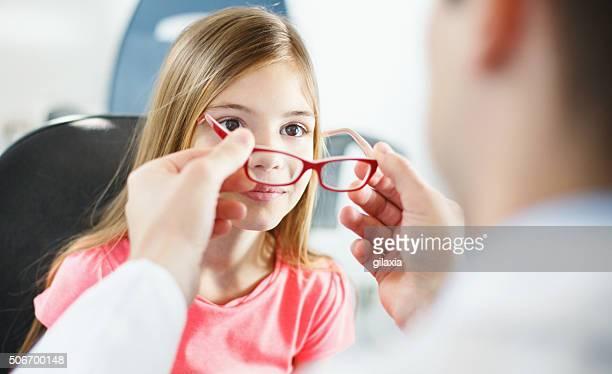 Eye exam.