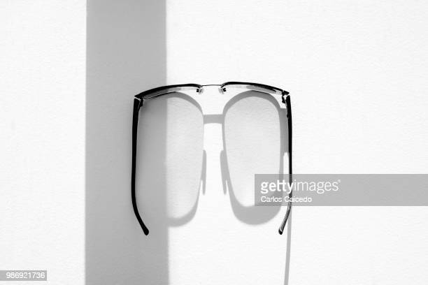 Eye glasses face UV rays. From my series 'Shadows