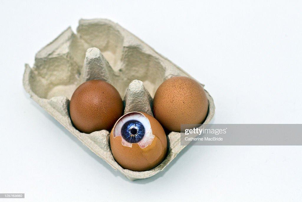 Eye hatching : Foto de stock
