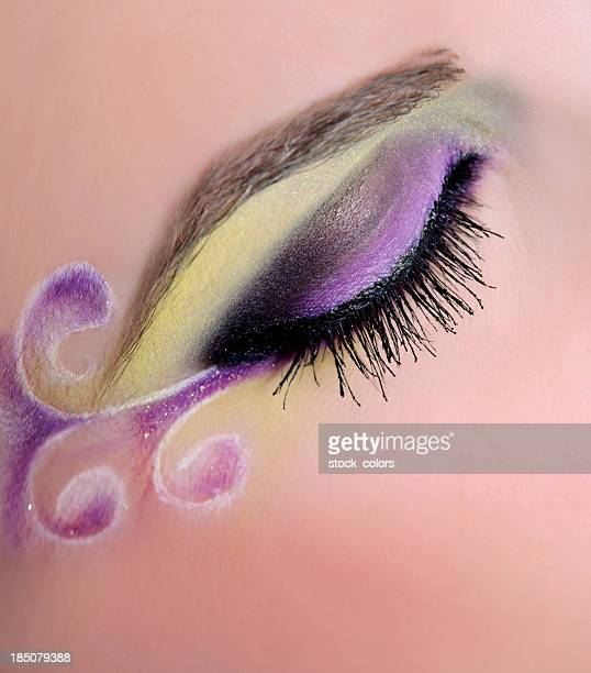 eye make-up macro