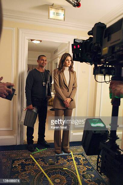 CASTLE 'Eye of the Beholder' Castle Beckett work a murder case around the theft of a valuable sculpture Kristin Lehman guest stars as Serena Kaye a...