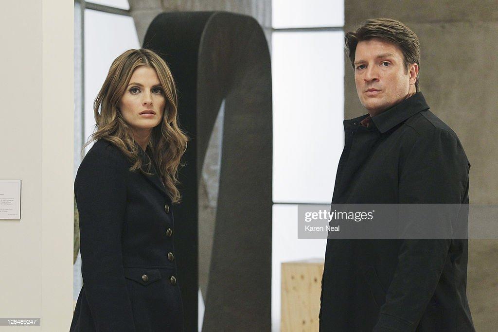 """ABC's """"Castle"""" - Season Four : Nachrichtenfoto"""