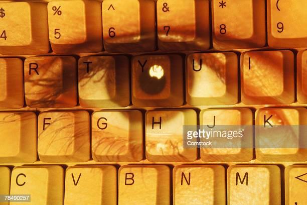 Eye on keyboard