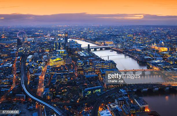 eye on london - river thames stock pictures, royalty-free photos & images