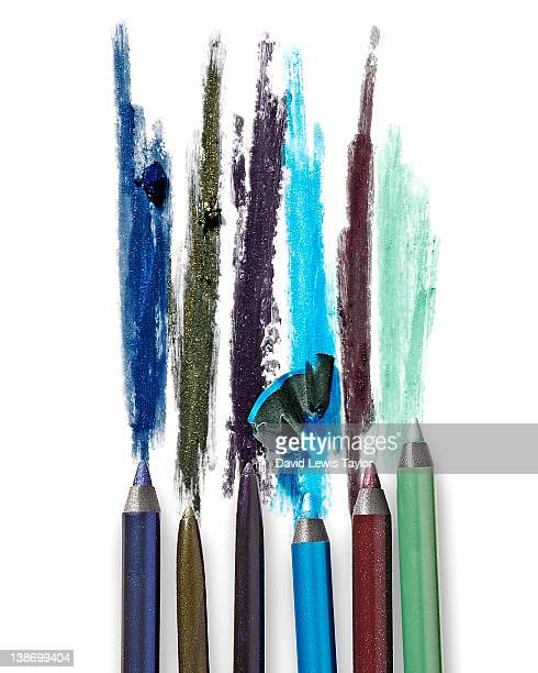eye pencils - eyeliner stock pictures, royalty-free photos & images