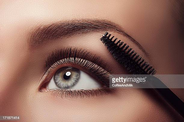 eye - stage make up stock photos and pictures