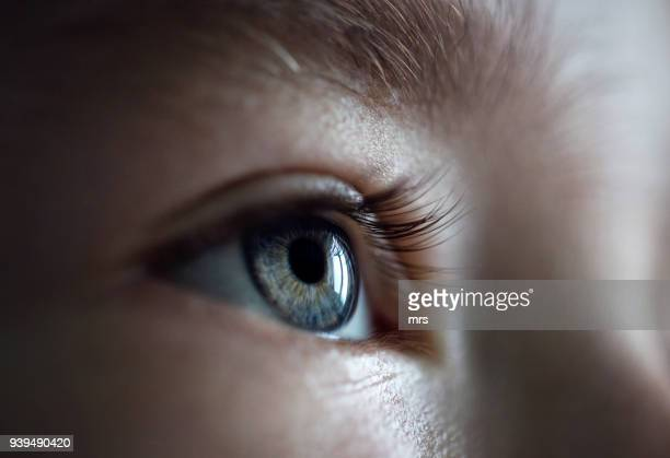 eye - close up stockfoto's en -beelden
