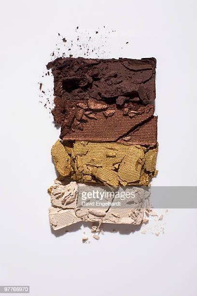 eye shadow color - marron couleur photos et images de collection