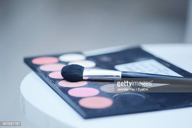 Eye Shadow Palette And Brush