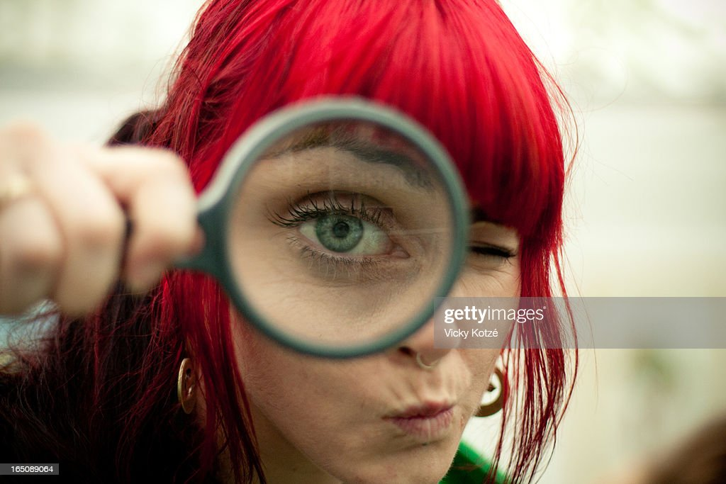 Eye spy : Stock Photo