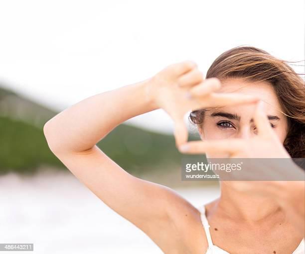 Eye vision-Konzept