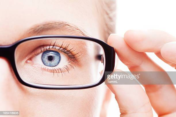 Eyeball and Glasses.