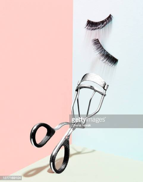 "eyebrow curler and lashes - ""shana novak"" stock pictures, royalty-free photos & images"