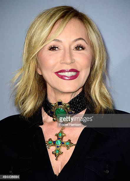 Eyebrow expert Anastasia Soare attends the InStyle Awards at Getty Center on October 26 2015 in Los Angeles California