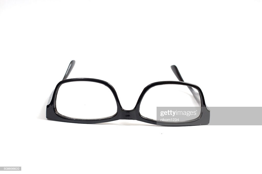Eyeglasses isolated on white. : Stock Photo