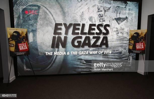 Eyeless In Gaza NYC Premiere Screening QA Panel on February 8 2017 in New York City