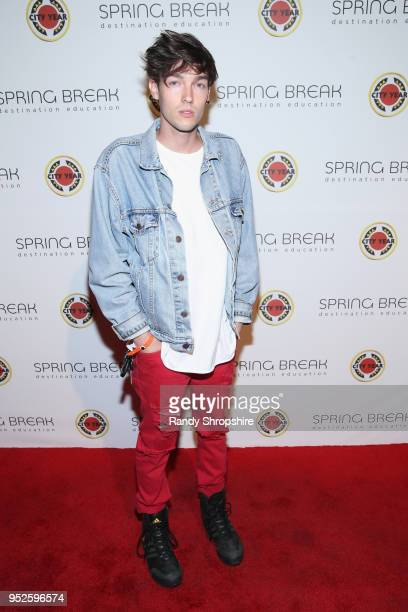 Eyelid Kid attends City Year Los Angeles' Spring Break Destination Education at Sony Studios on April 28 2018 in Los Angeles California