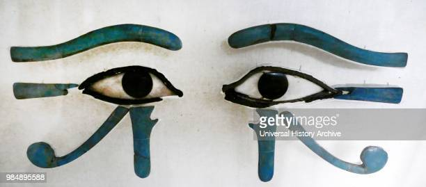 Eyes of Horus part of the sarcophagus of Amenemhat Middle Kingdom 12th Dynasty Amenemhat I also Amenemhat I and the hellenized form Ammenemes was the...