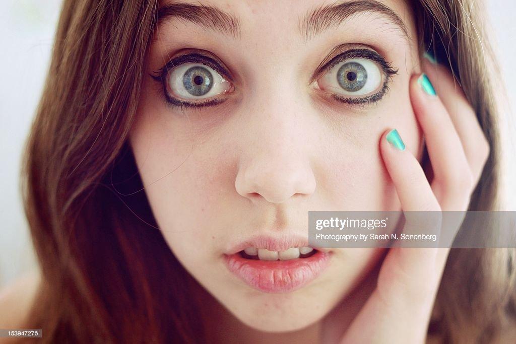 Eyes Wide Open : Foto de stock