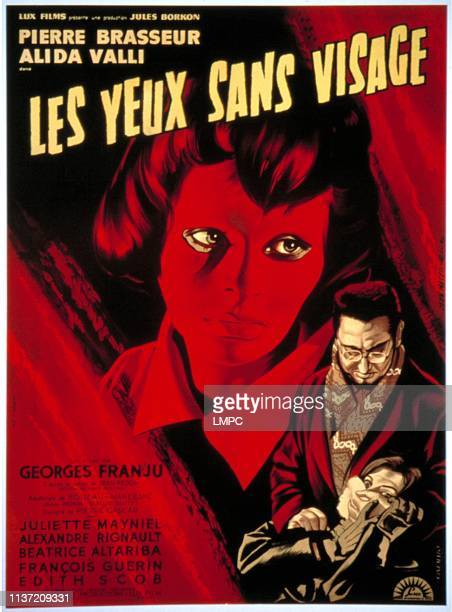 Eyes Without A Face poster Edith Scob Pierre Brasseur Juliette Mayniel 1960