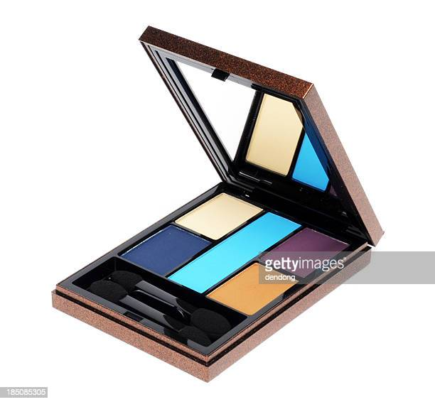 eyeshadow - powder compact stock pictures, royalty-free photos & images