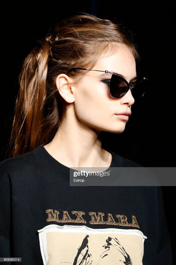 87a53b9916 Eyewear at the Max Mara show during Milan Fashion Week Fall Winter ...