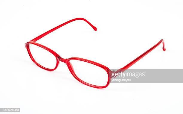 eyewear optical series - bril brillen en lenzen stockfoto's en -beelden