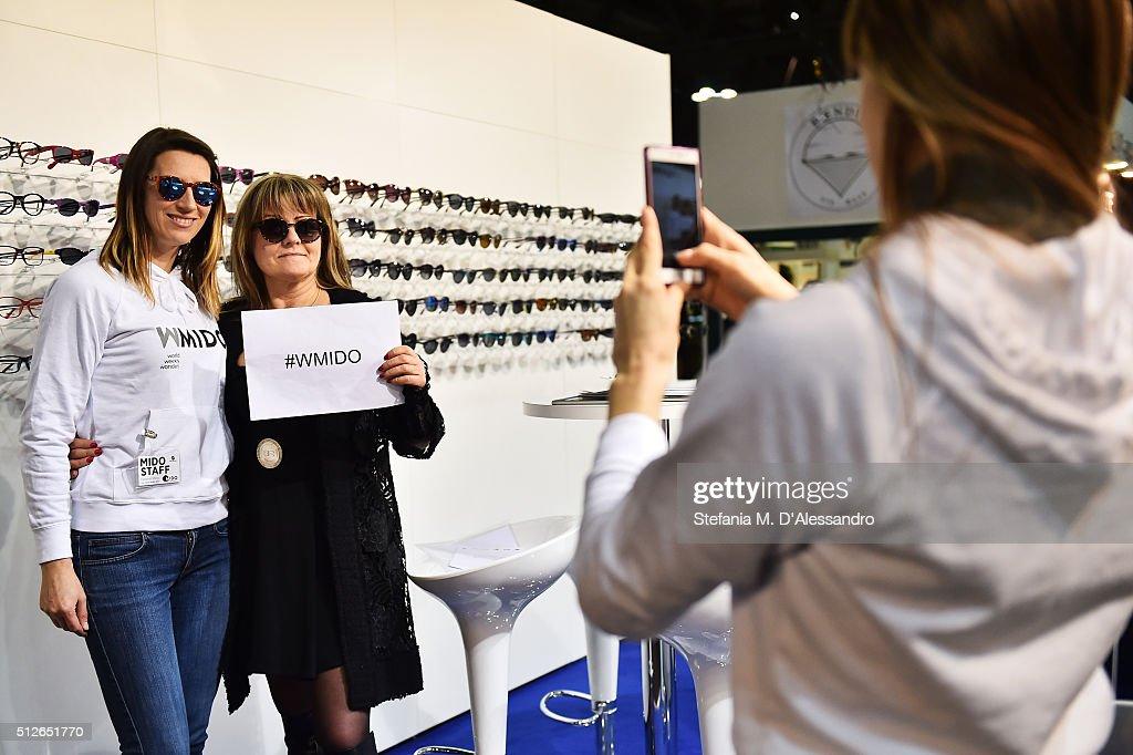 Eyewear professionals attend MIDO 2016, the Milano Eyewear Show, during Milan Fashion Week FW16 on February 27, 2016 in Milan, Italy.