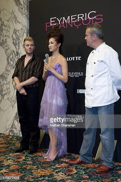 Eymeric Francois designer Shizuka Arakawa and Alain Passard Chef