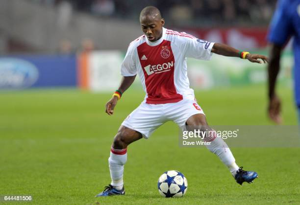 Eyong ENOH Ajax Amsterdam / Auxerre Champions League 2010/2011 Photo Dave Winter / Icon Sport