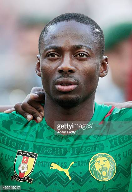 Eyong Enoh of Cameroon before the International Friendly match between Germany and Cameroon at Borussia Park Stadium on June 1 2014 in...