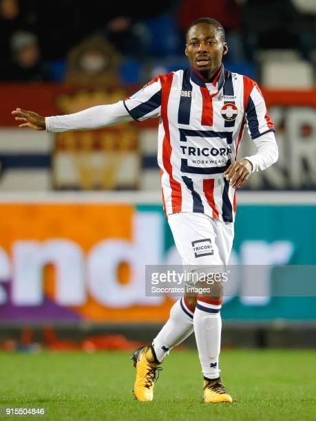 Eyong Enoh of Willem II during the Dutch Eredivisie match between Willem II v VVVVenlo at the Koning Willem II Stadium on February 7 2018 in Tilburg...