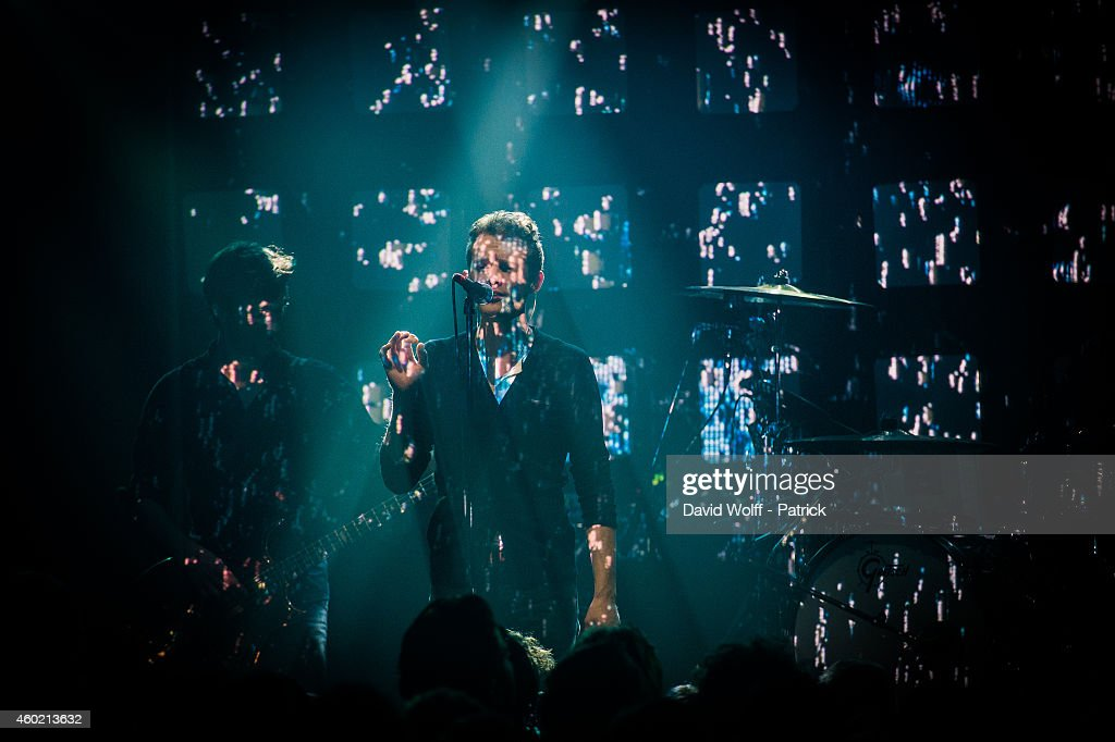 EZ3kiel Performs At La Maroquinerie In Paris : News Photo
