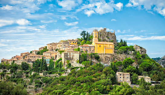 Eze is a small old Village in Alpes-Maritimes department in southern France, 972388884