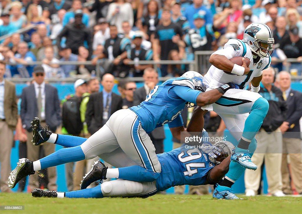 Detroit Lions v Carolina Panthers : News Photo