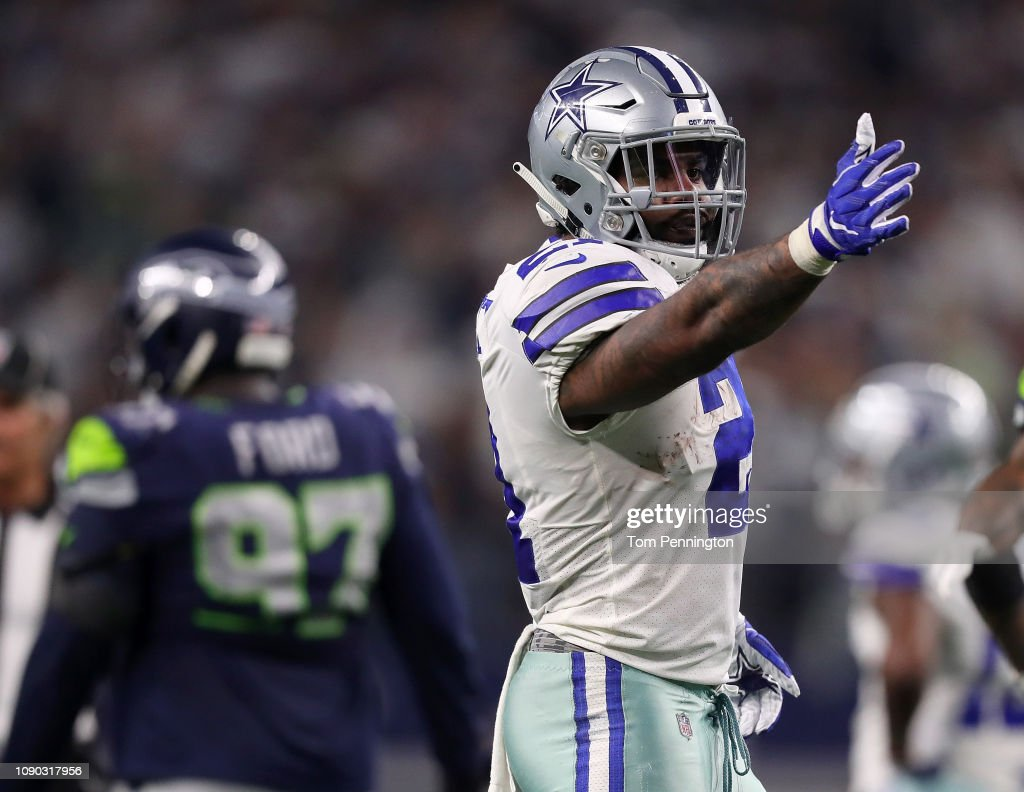 Wild Card Round - Seattle Seahawks v Dallas Cowboys : News Photo
