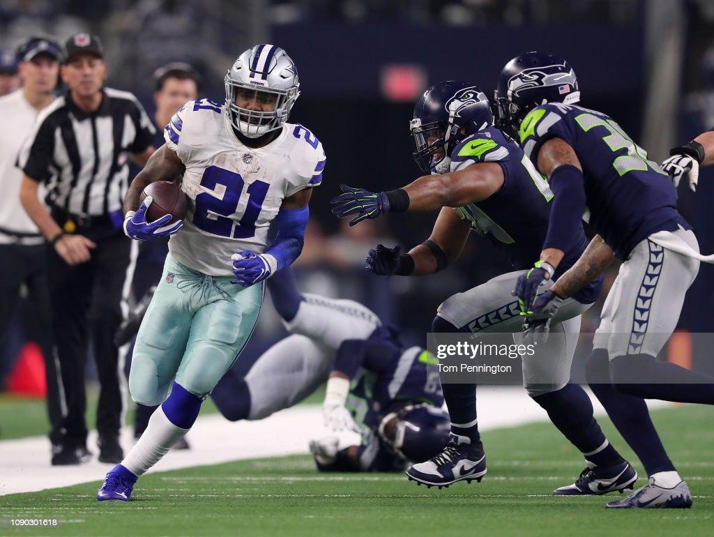 Wild Card Round - Seattle Seahawks v Dallas Cowboys : News Photo