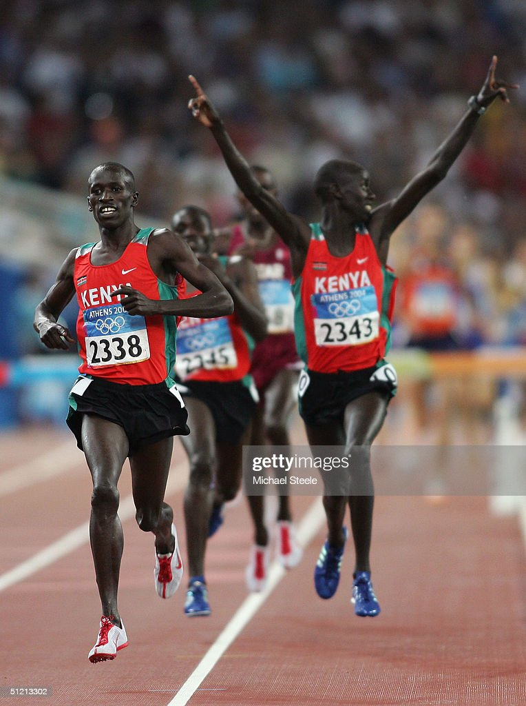 Mens 3000m Steeplechase Finals : News Photo