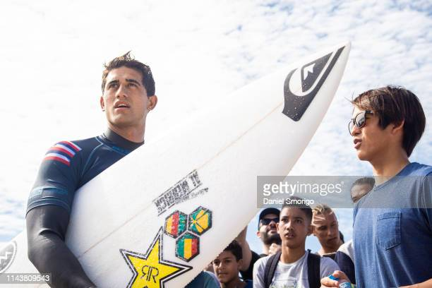 Ezekiel Lau from Hawaii finished his campaign in 3th after losing to Wade Carmichael in Heat 2 of the Semifinals at the Oi Rio Pro in Saquarema, Rio...